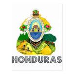 Emblema del Honduran Tarjetas Postales