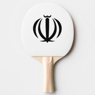 Emblema iraní pala de ping pong