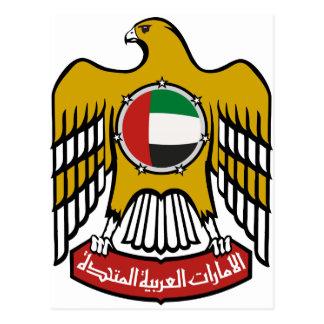 Emblema nacional de United Arab Emirates Tarjetas Postales