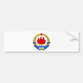 Emblema socialista de República Federal de Pegatina Para Coche