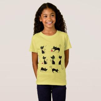 Embroma amarillo de la camiseta de los diseñadores