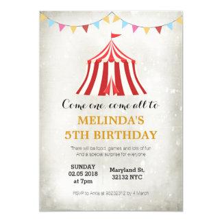 Embroma invitaciones de la fiesta de cumpleaños