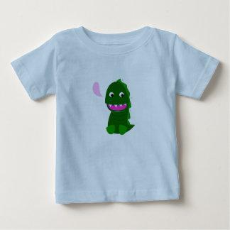 Embroma la camiseta de los diseñadores con Dino