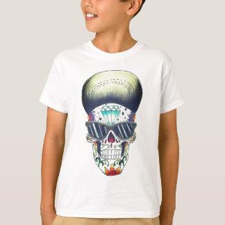 embroma la nueva camiseta del cráneo del azúcar de