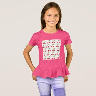 Embroma rosa de la camiseta de los diseñadores con
