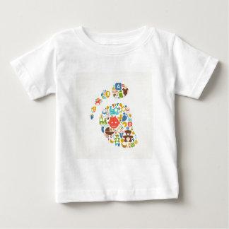 Embrome un rastro camiseta de bebé
