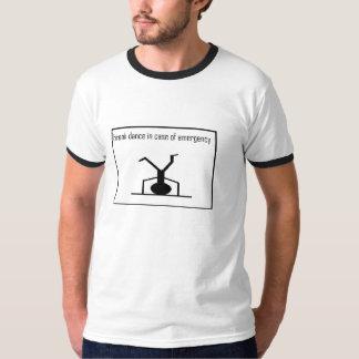 Emergencia de la danza de rotura camiseta