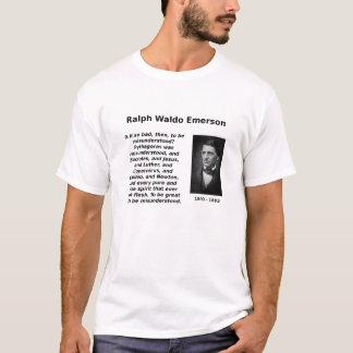 Emerson, ser entendido mal camiseta
