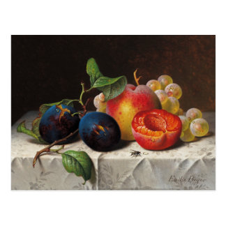 Emilie Preyer: Frutas y mosca Postal
