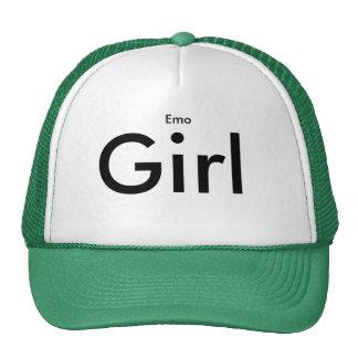 Emo, chica gorro de camionero