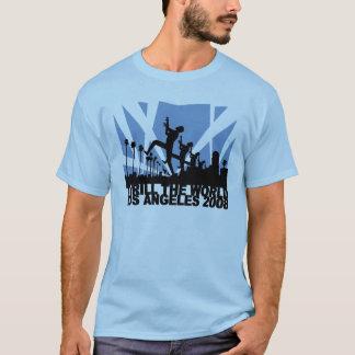 Emocione el mundo, Los Ángeles 2008 Camiseta