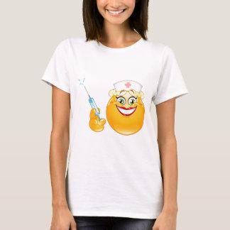 emoji de la enfermera camiseta