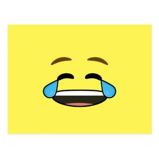 Emoji de risa postal