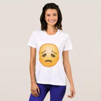 Emoji decepcionado camiseta