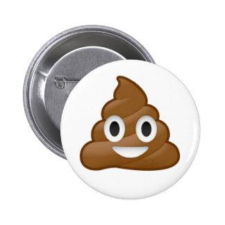 Emoji del impulso chapa redonda de 5 cm