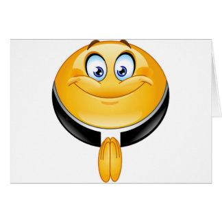 emoji del sacerdote tarjeta de felicitación
