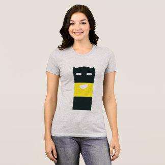 Emoji del super héroe camiseta