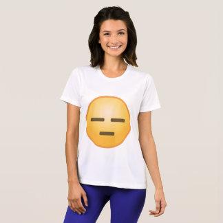 Emoji inexpresivo camiseta