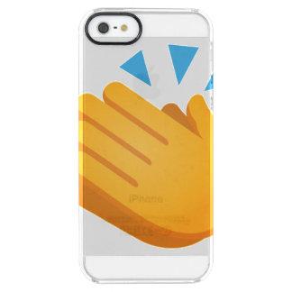 Emoji que aplaude funda transparente para iPhone SE/5/5s