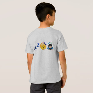 emoji soñoliento camiseta