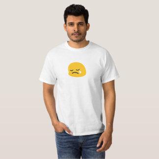 Emoji triste camiseta