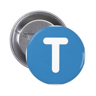 Emoji Twitter - Letter T