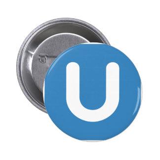 Emoji Twitter - Letter U