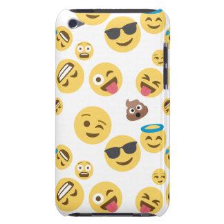 Emojis sonriente loco funda para iPod de barely there