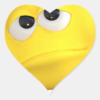 emoticon-1634515 pegatina en forma de corazón
