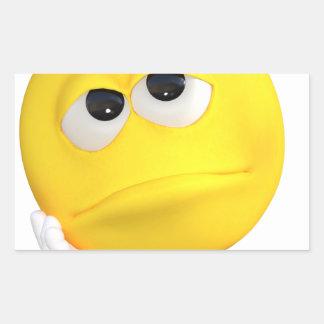 emoticon-1634515 pegatina rectangular