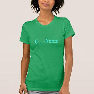 Emoticon el dormir camisetas