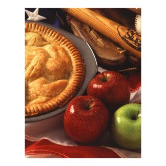 Empanada de Apple Folleto 21,6 X 28 Cm