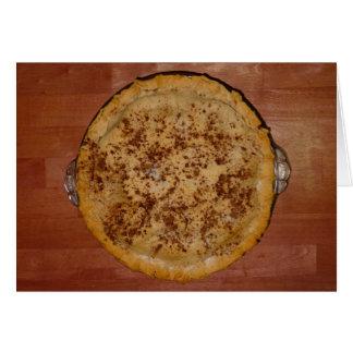 Empanada de Apple hecha en casa Tarjeta De Felicitación