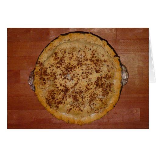 Empanada de Apple hecha en casa Tarjeta
