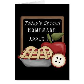 Empanada de Apple hecha en casa Tarjeta Pequeña