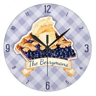 Empanada de arándano de encargo del color un reloj