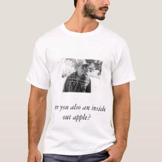 Empanada de manzana del trueno del balanceo camiseta