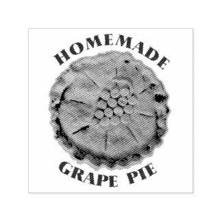 Empanada hecha en casa de la uva sello automático