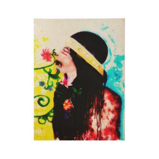 Emparede el arte, poster casero de la decoración, póster de madera