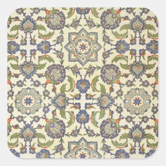 Emparede las tejas de Qasr Rodouan, del 'arte Pegatina Cuadrada