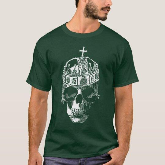 Emperador bizantino muerto con las gafas de sol camiseta