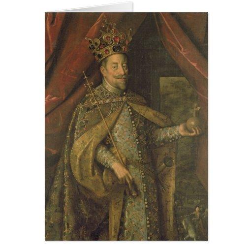 Emperador Matías de Austria Tarjetón