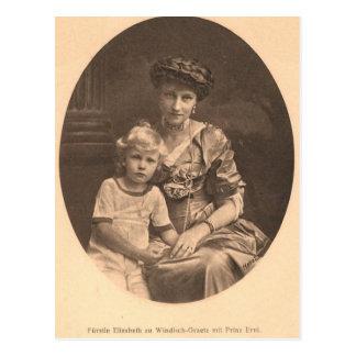 Emperatriz Elisabeth - Sissi #041H de la NIETA Postal