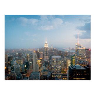 Empire State Building en New York City Postal