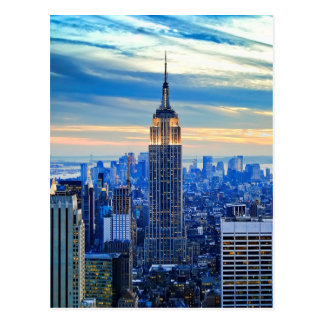 Empire State Building, Manhattan, New York City Postal
