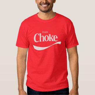 Emplee la obstrucción camisetas