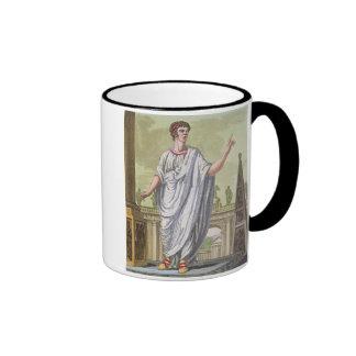 Empleo de reivindicación del ciudadano romano, de  taza