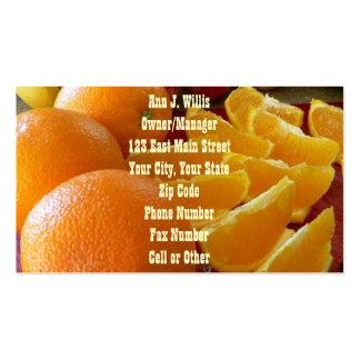 Empleos del negocio de la comida de la ensalada de tarjetas de visita
