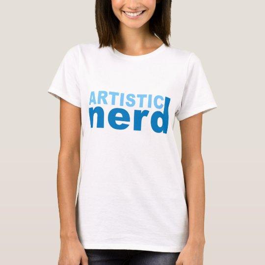 Empollón artístico camiseta