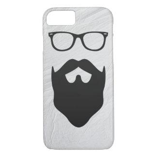 Empollón de la barba funda iPhone 7